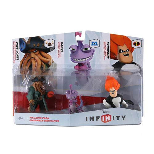 Disney Infinity Villains Mini-Figure 3-Pack