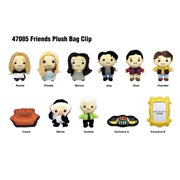 Friends Plush Bag Clip Display Case