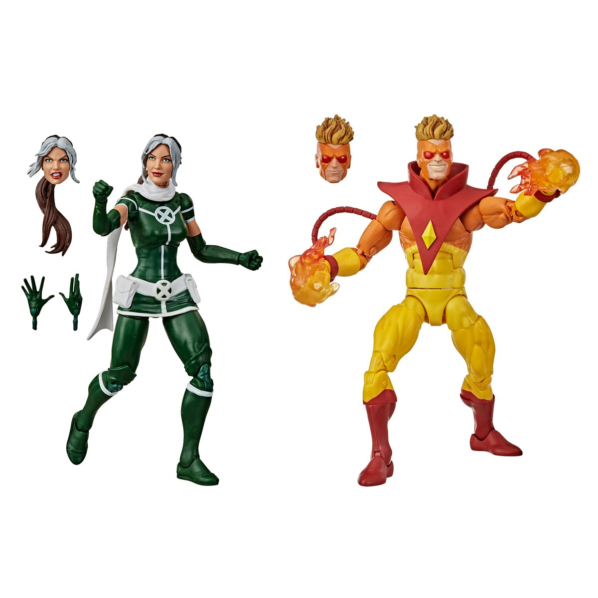 """ROGUE ONLY *Here next week* Marvel Legends X-Men Pyro /& Rogue Action Figure 6/"""""""