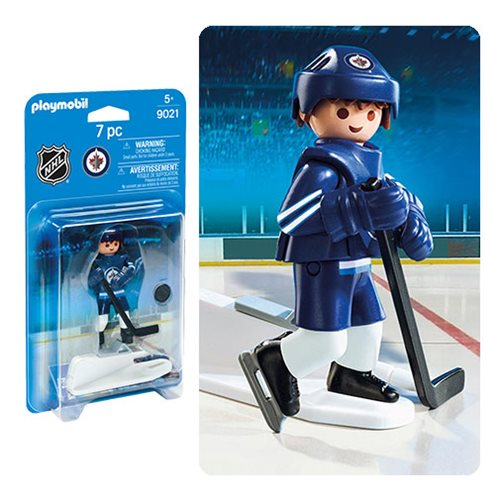 Playmobil 9021 NHL Winnipeg Jets Player Action Figure