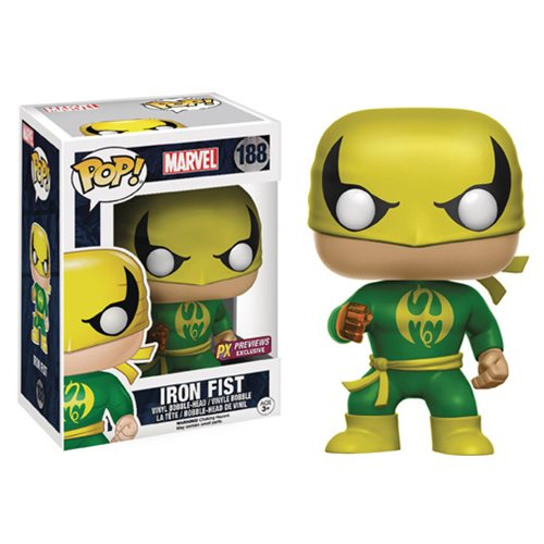 Marvel Iron Fist Pop! Vinyl Bobble Figure - Previews Exclusive