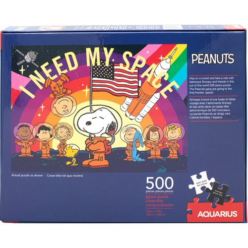 Peanuts Snoopy in Space 500-Piece Puzzle
