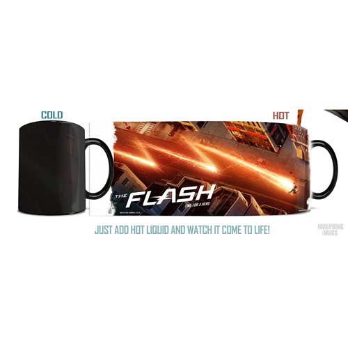 Flash Time for a Hero Morphing Mug