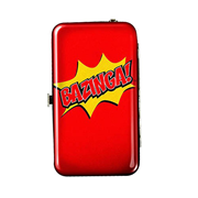The Big Bang Theory Bazinga Wristlet Purse