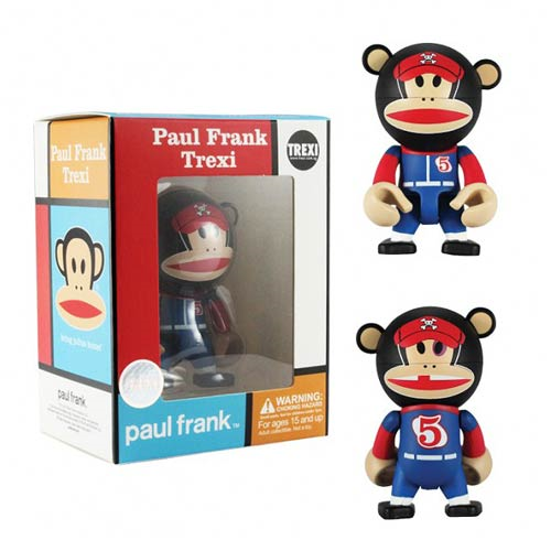 Paul Frank Baseball Player Julius Trexi Mini-Figure