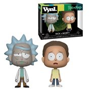 Rick and Morty Vynl. Figure 2-Pack