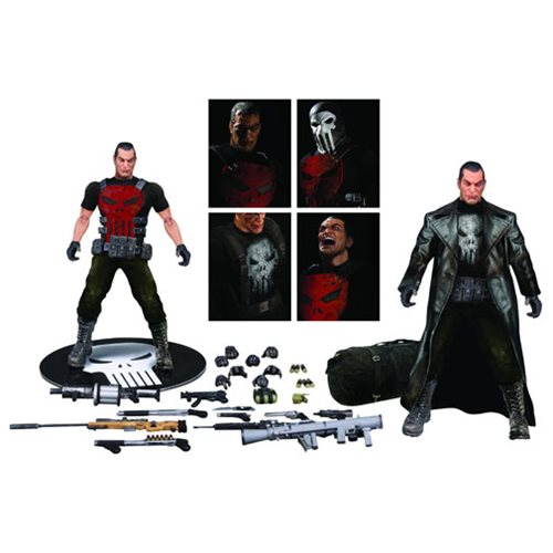 Punisher Deluxe One:12 Collective Action Figure - Previews Exclusive
