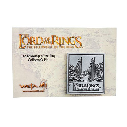 The Lord of the Rings Fellowship of the Ring Collectable Pin