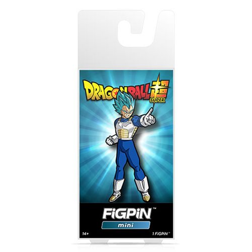 Dragon Ball Super Super Saiyan God Super Saiyan Vegeta FiGPiN Mini