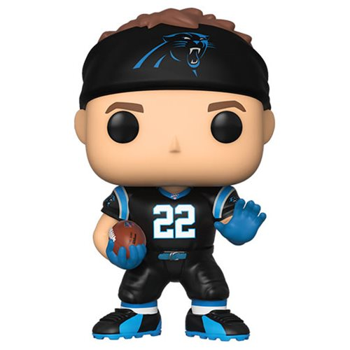 NFL Panthers Christian McCaffrey Pop! Vinyl Figure