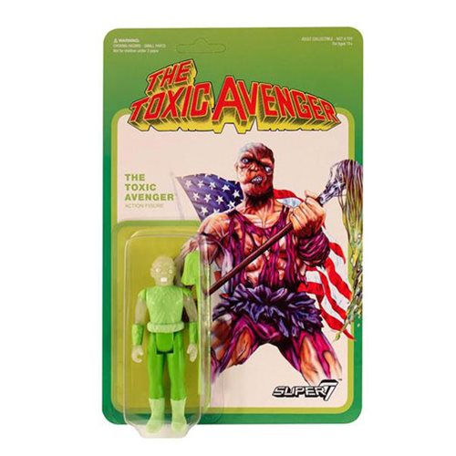 Toxic Avenger Glow in the Dark ReAction Figure