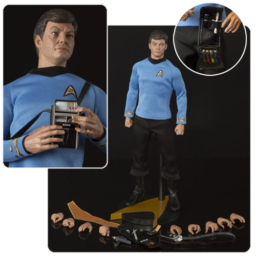 "Star Trek TOS Dr. Leonard ""Bones"" McCoy 1:6 Scale Action Figure"