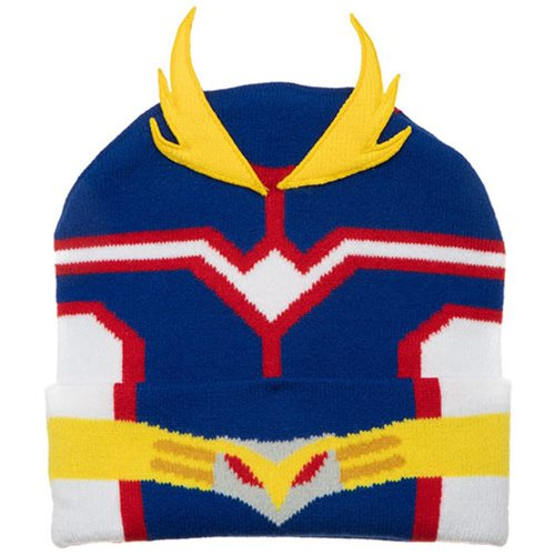 My Hero Academia All Might Suit Up Cuff Beanie