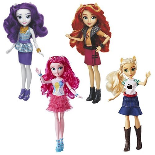 My Little Pony Equestria Girls Classic Fashion Dolls Wave 1