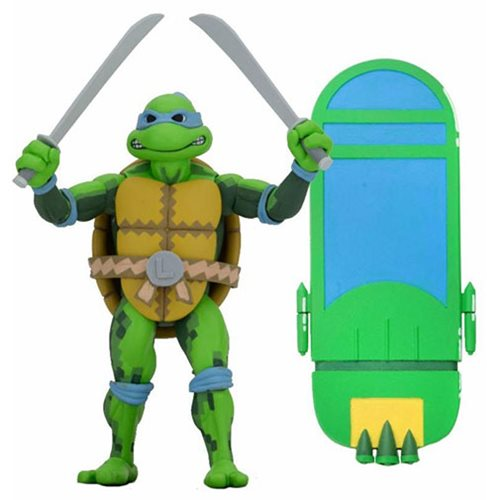 TMNT: Turtles In Time 7-Inch Scale Action Figure Set