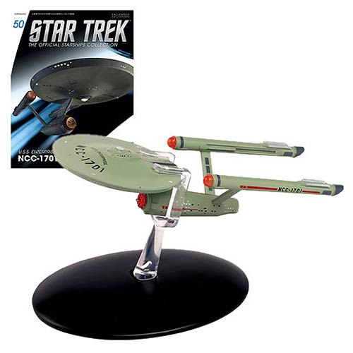 Star Trek Starships The Original Series U.S.S. Enterprise NCC-1701 Die-Cast Vehicle with Collector Magazine