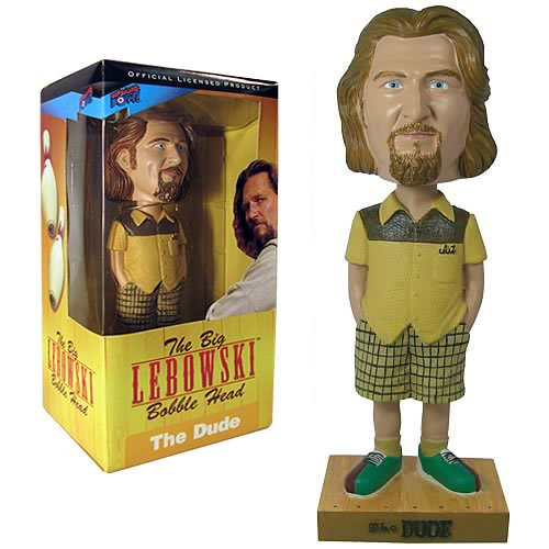 The Dude Bobble Head: The Big Lebowski Bowling Shirt