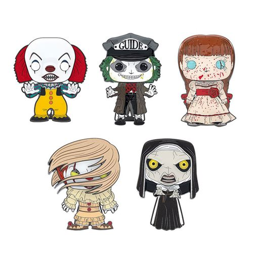 Horror Large Enamel Pop! Pin - 1 Random Pin