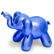 Balloon Animal Big Elephant Blue Money Bank