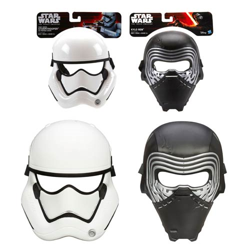 Star Wars: The Force Awakens Masks Wave 1 Set