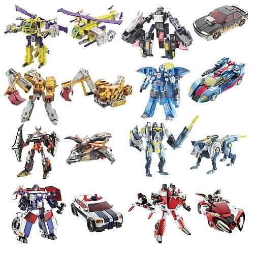 Transformers Cybertron Deluxe Wave 3.5 Rev. 1 with DVD