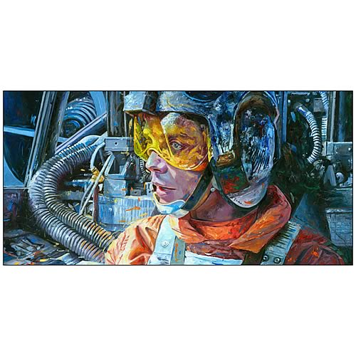 Star Wars Luke Skywalker Rebel Pilot Canvas Giclee Print