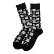 Star Wars Darth Vader and Stormtrooper Black Socks