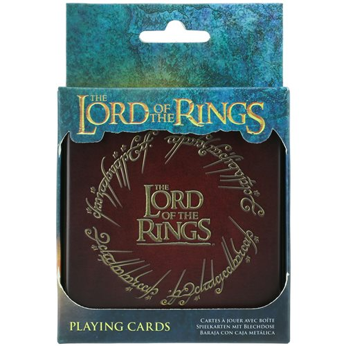 Lord of the Rings Playing Cards