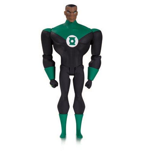JL Animated TV Series Green Lantern John Stewart Figure