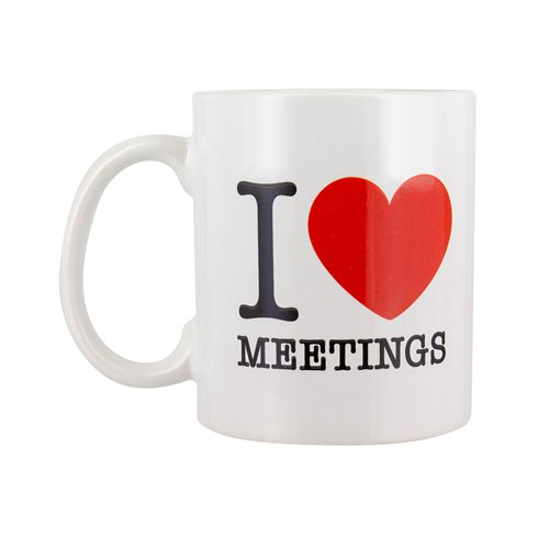 I Love Meetings 10 oz. Mug