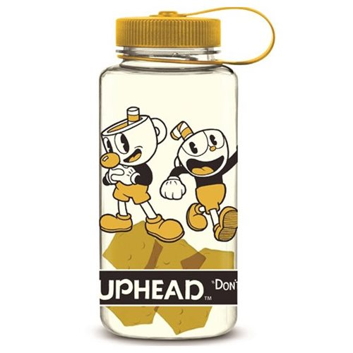 Cuphead and Mugman Water Bottle