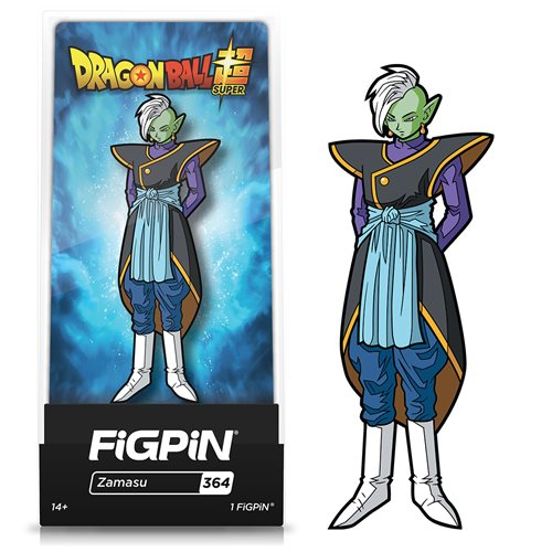 Dragon Ball Super Zamasu FiGPiN Enamel Pin - Entertainment Earth Exclusive