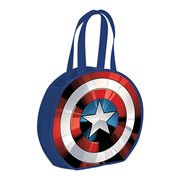 Captain America Shield Round Recycled Shopper Tote