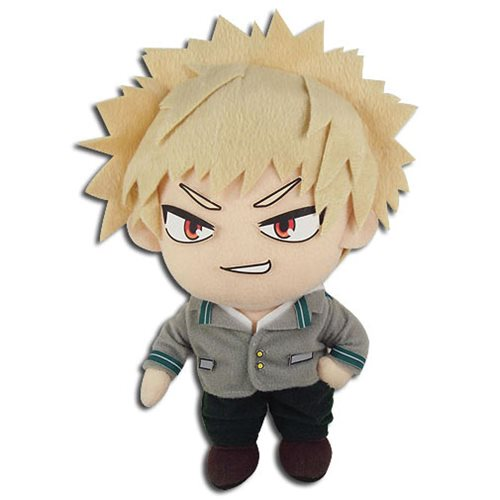 My Hero Academia Bakugo Uniform 8-Inch Plush