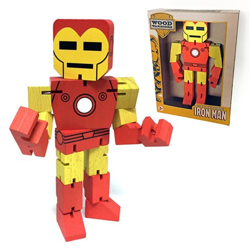 Iron Man Wood Warriors Action Figure