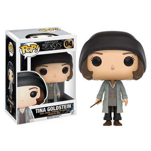 Fantastic Beasts and Where to Find Them Tina Pop! Vinyl Figure, Not Mint