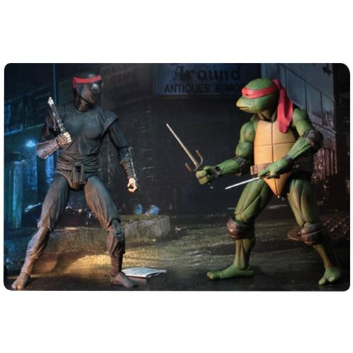 Teenage Mutant Ninja Turtles Movie 1:4 Scale Foot Soldier Action Figure
