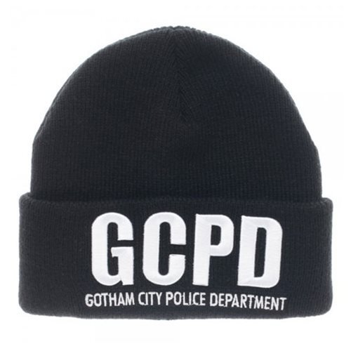 Batman Gotham City Police Department Cuff Beanie Hat