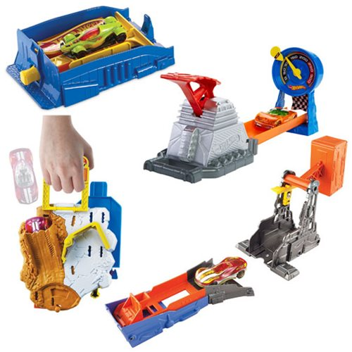 Hot Wheels Pocket Raceway Playset Case