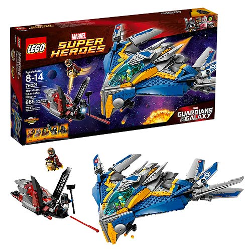 Lego 76021 Guardians of the Galaxy Marvel the Milano Spaceship Rescue
