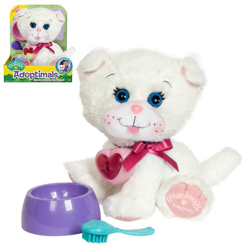 Cabbage Patch Kids Adoptimals White Kitty 9-Inch Plush