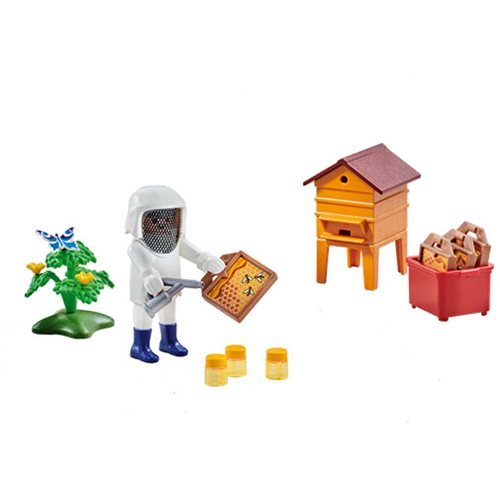 Playmobil 6573 Beekeeper with Hive
