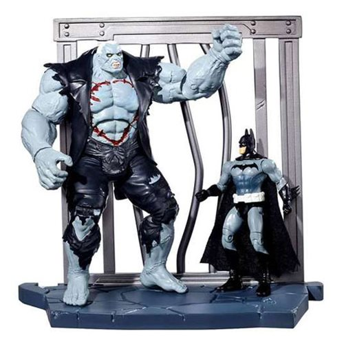 Batman vs Solomon Grundy World Builder 2-Pack, Not Mint