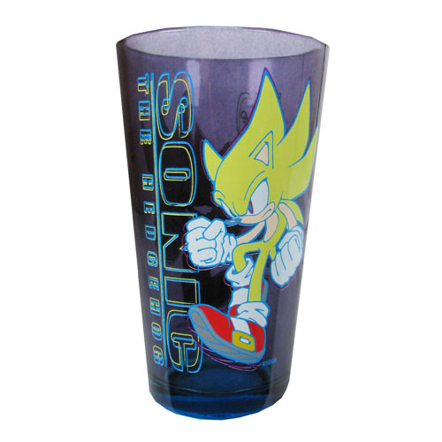 Sonic the Hedgehog Super Sonic Pint Glass