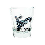 Batman Catwoman DC Comics Mini Glass