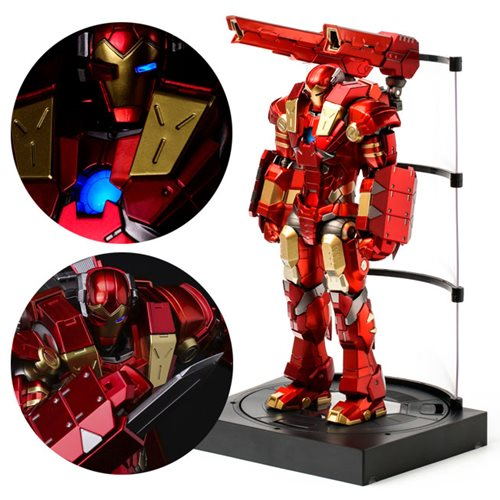 Iron Man with Plasma Cannon and Vibroblade Re: Edit Light-Up Action Figure