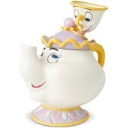 Disney Beauty and the Beast Mrs. Potts and Chip Cookie Jar