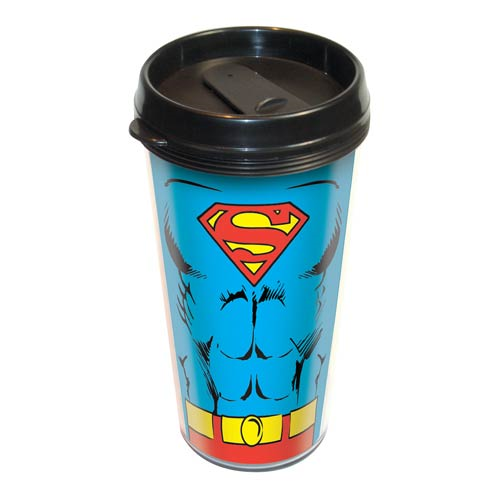 Superman Uniform Travel Mug