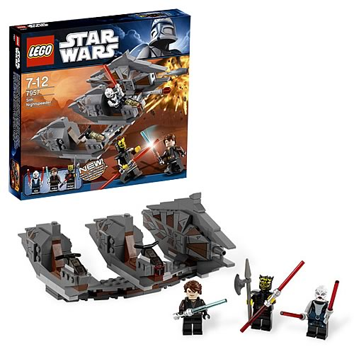 LEGO Star Wars 7957 Sith Nightspeeder with Savage Opress