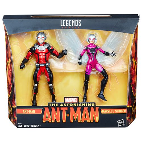 Marvel Legends Ant-Man and Stinger 6-Inch Action Figures 2-Pack - Toys R Us Exclusive